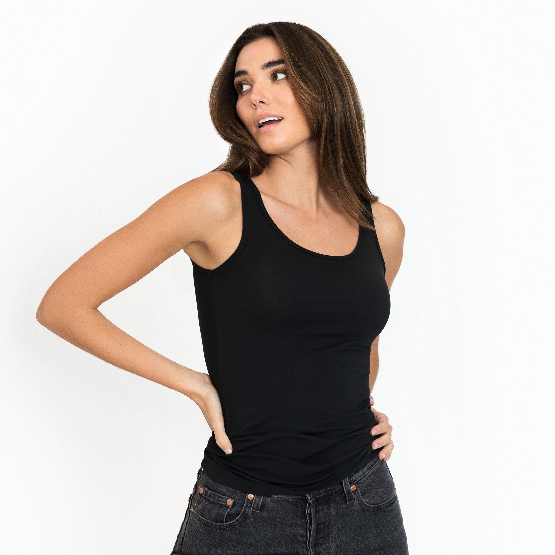 Tank cotton-stretch
